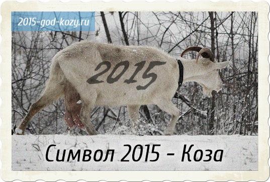 Как сделать символ года 2015 года козу