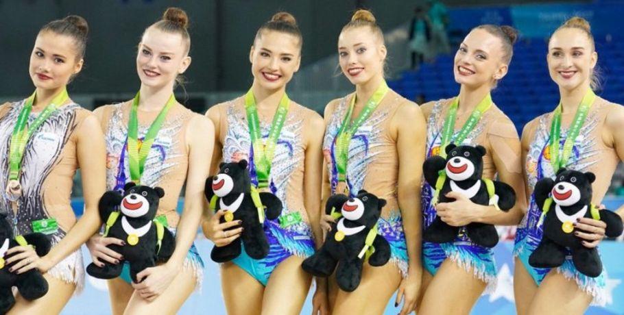 Омская гимнастка Вера Бирюкова стала двукратной победительницей Универсиады