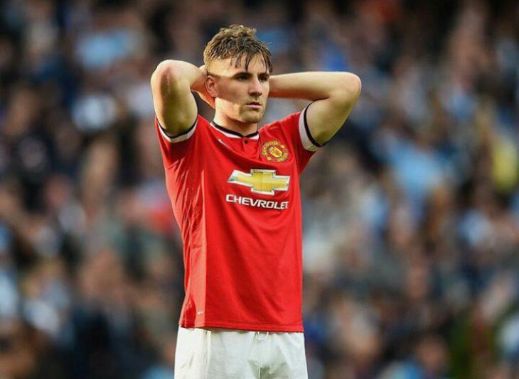 «Манчестер Юнайтед» готова снизить стоимость Люка Шоу